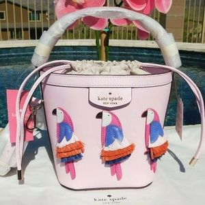 Kate Spade  Flock Party Parrot Pippa Embellished